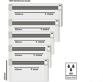 Tesy CN04 WIFI 1000W Electric Panel