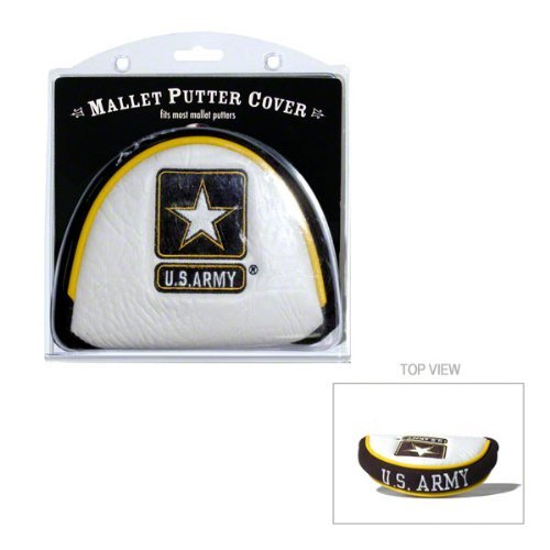 Team Golf Military Army Golf Club Mallet Putter Headcover, Fits Most Mallet Putters, Scotty Cameron, Daddy Long Legs, Taylormade, Odyssey, Titleist, Ping, Callaway