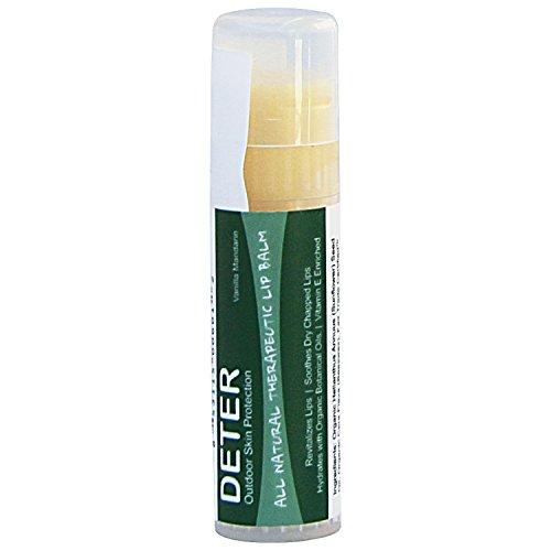 Deter All Natural Organic Lip Balm, 0.25 oz ()