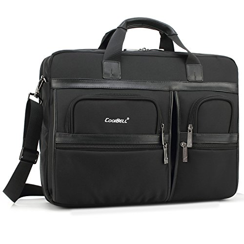 Laptop Briefcase, CoolBell 17.3 Inch Protective Messenger...