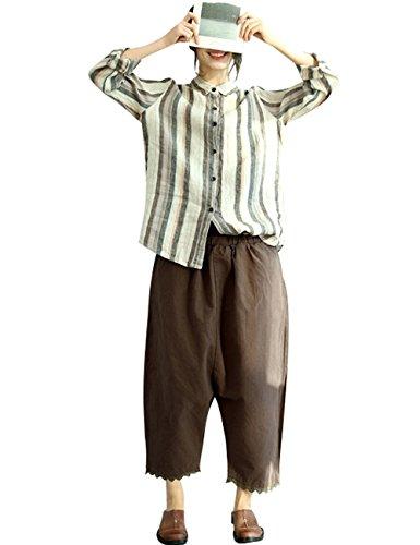 Large 2 Jeans Youlee lastique Taille Style Femmes Pantalon nqqXTf04