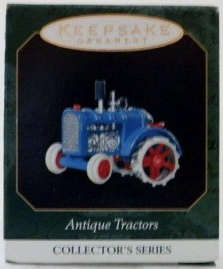 1 X 1999 Hallmark Ornament Miniature Antique Tractors # 3 Series