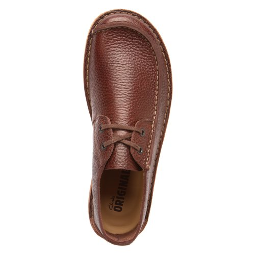 ... Clarks Mens Søm Trek Oxford Brun ...