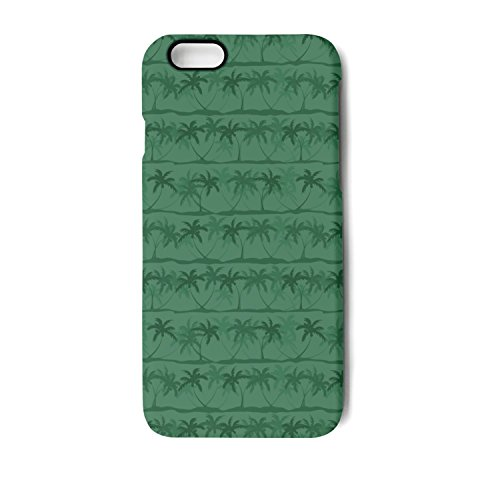 IPhone7 Case/IPhone8 Case Green Windmill Palm Tree Printing Anti-Finger Anti-Scratch TPU Heavy Duty Protection Phone Back Cover For IPhone7 Case/IPhone8 Case