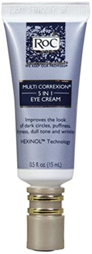 RoC Multi Correxion 5-in-1 Eye Cream, 0.5 oz (Pack of 2)
