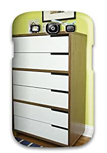 Defender Case For Galaxy S3 Two-toned Streamlined Dresser Pattern