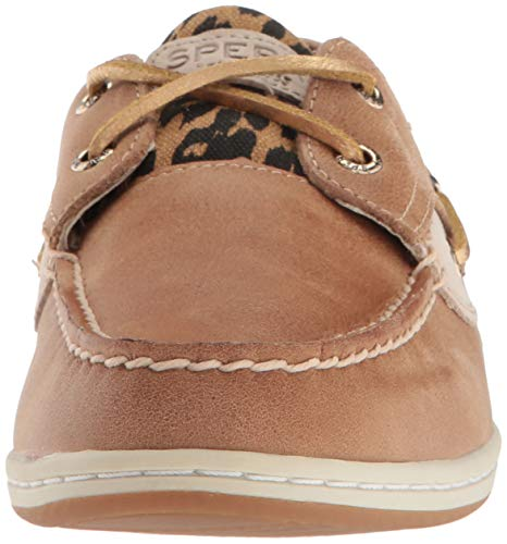 Shoe 5 7 Koifish Linen M Women's Us Sperry Cheetah Boat 0xUpIwHq