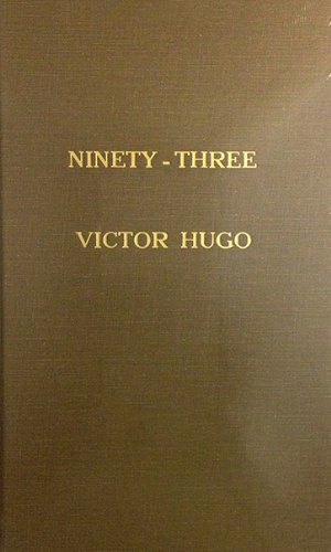 book cover of Ninety-Three