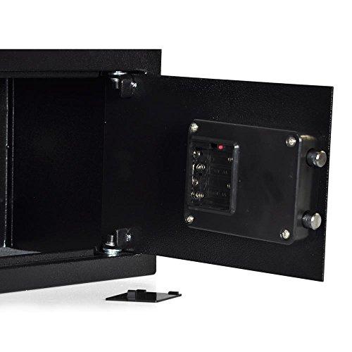 SereneLife Safe Fire Safes And Lock Boxes | Fireproof Lock Safe Safe Box | Box Box Steel Alloy Drop Safe Keys