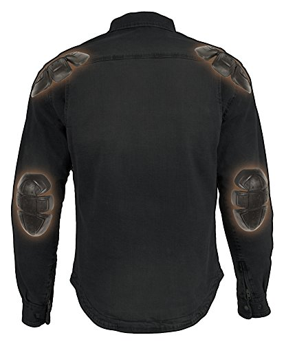 Milwaukee Performance Men's Denim Biker Shirt with Aramid (Grey, XX-Large), 0 Pack by Milwaukee Performance (Image #5)