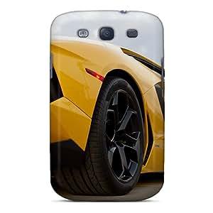 New Arrival ZbV9935QcHT Premium Galaxy S3 Cases(yellow Lamborghini)