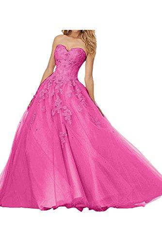 Topkleider - Vestido - trapecio - para mujer rosa 52