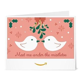 Amazon Gift Card - Print - Mistletoe (B01LZM1JP5) | Amazon price tracker / tracking, Amazon price history charts, Amazon price watches, Amazon price drop alerts