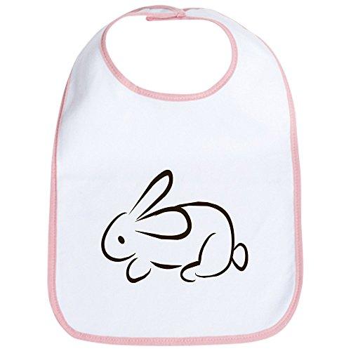 CafePress - rabbit Bib - Cute Cloth Baby Bib, Toddler Bib