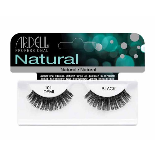 Fashion Ardell (Ardell Fashion Lashes, 101 Demi Black, 1 Pair (Pack of 3))