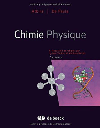 Résultats de recherche d'images pour «chimie physique atkins»