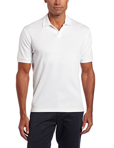 Perry Ellis Short Sleeve Cotton Blend Shirt