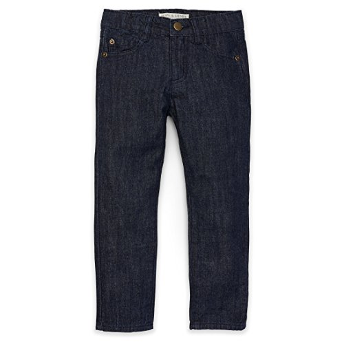 Hope & Henry Boys' Dark Wash Lightweight Denim Jeans ()
