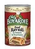 Chef Boyardee Beef Ravioli in Tomato & Meat Sauce (Pack of 10)