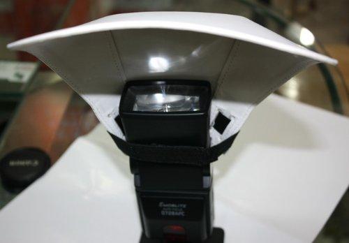 Kindofsmile Flash Bounce Reflector Card Diffuser for Yongnuo Yn-565 Yn-560 Yn-468 Yn460 Ii