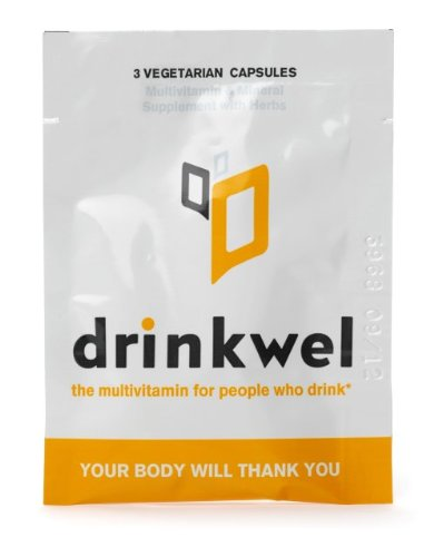 Drinkwel for Nutrient Replenishment & Liver Support (10 To Go Packets with with Organic Milk Thistle, N-acetyl Cysteine, Alpha Lipoic Acid, and DHM)