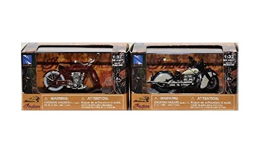 - Indian Motorcycle Set of 2 Indian Four 1939 Indian V-2 1912 Motorcycles
