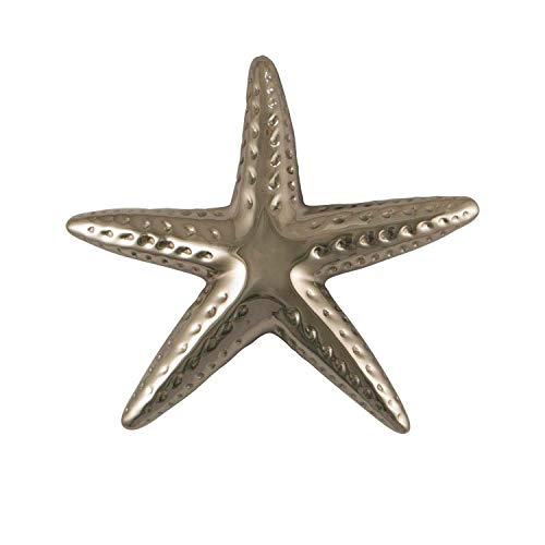 Starfish Door Knocker - Nickel (Premium Size)