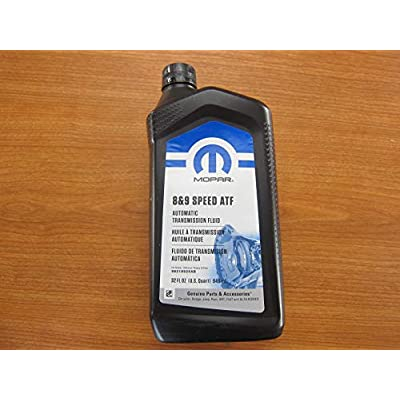 Mopar Chrysler Dodge Jeep Ram 8 and 9 Speed Automatic Transmission Fluid New Case of 6: Automotive