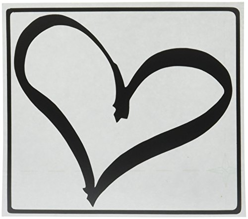Heart Peace Vinyl Sticker Rambler product image