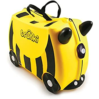 Trunki: The Original Ride-On Suitcase NEW, Bernard (Yellow)