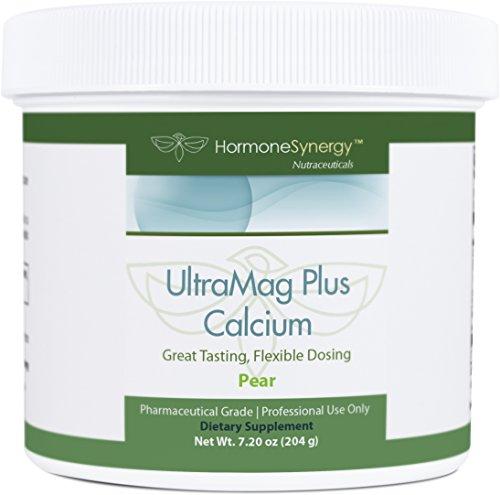 UltraMag Plus Calcium | Patented Albion® calcium and magnesium formulation | 30 Scoops | Includes free eBooks