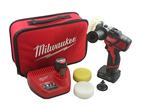 - Milwaukee M12 Variable Speed Polisher Sander with Accessory Kit