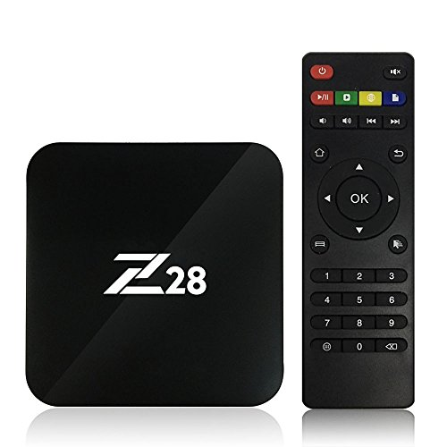 Walmeck Android TV Box Android 7.1 TV Box Mini 2GB/16GB Amlogic S RK3328 Quad Core 64Bit 1G and 8G H.265 UHD 4K VP9 HDR 3D Mini PC WiFi US Plug by Walmeck