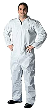 68522 Buffalo Industries Non-Hooded SMS Disposable Coverall-Size XXXL