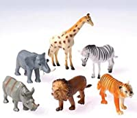 Toy Wild Animals Case Pack 8
