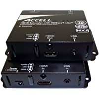 Accell E090C-004B UltraCat with HDBaseT Lite HDMI CAT5e/6 High-Speed Extenders