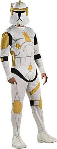 Rubie's Men's Star Wars, Commander Cody Clone Trooper Costume, Multi, Standard]()