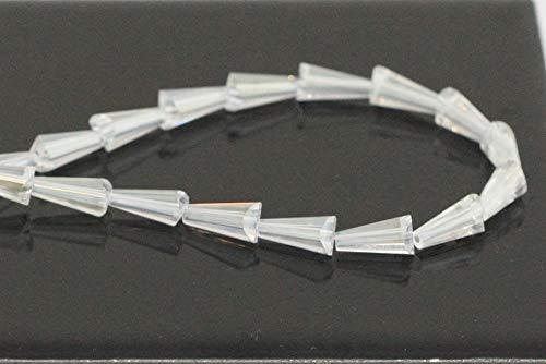Czech Artemis Crystal Glass Beads 6mm Crystal AB #5540 Alternatives for Swarovski Preciosa Bead (~48-50pcs beads) CCA602 ()
