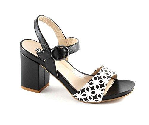 Nero Quad Sandalo Grunland Donna P Sa1611 8zxw5qX4