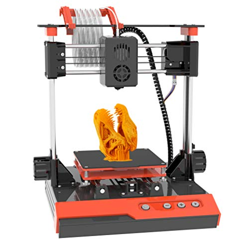 Small 3D Printer for Kids, Mini 3D Printer with Free Testing PLA Filament, Easy Assembly Fast Heating Low Noise…
