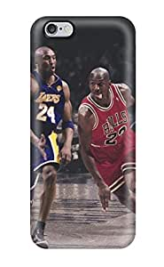 Durable Protector Cases Covers With Kobe Bryant Vs Michael Jordan Hot Design For Iphone 6plus