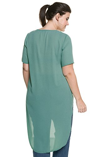 Studio Untold Femme Grandes tailles Blouse longue vert béryl 46 709510 48-44