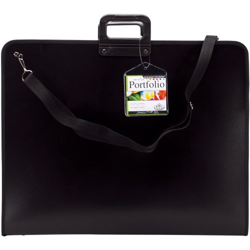 Royal Brush 17-Inch by 22-Inch Nylon Portfolio, Black by ROYAL BRUSH
