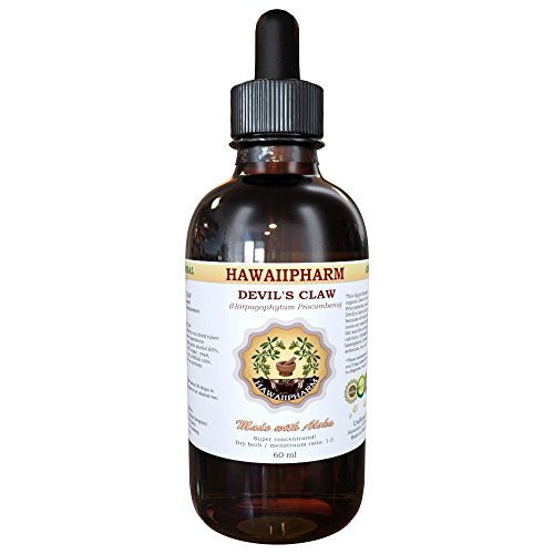 Devil's Claw Liquid Extract, Organic Devil's Claw (Harpagophytum Procumbens) Tincture 4 oz