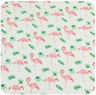 Tela de algodón con estampado de flamenco rosa para hacer tú mismo ...