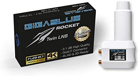 Gigablue Rocket Twin Lnb Weiß Wetterschutzgehäuse 2 Elektronik