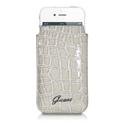 Guess HGUESSCASE12 Croco Handytasche für Apple iPhone 4/4S