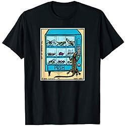 Reptile Vending Machine Funny Lizard T-Shirt Novelty Gift