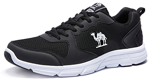 Mesh Black Shockproof Sports Lightweight Fashion Running Athletic Shoes Men's Breathable Camel Sneakers ZqpaEa