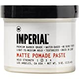 Imperial Barber Grade Products Matte Pomade Paste 5 Oz.